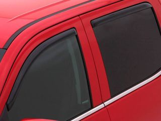 AVS 2018 Ford Expedition Ventvisor In Channel Front   Rear Window Deflectors 4pc   Smoke