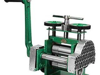 BEAMNOVA Rolling Mill Machine Jewelry Making Manual Hand Crank Tableting Jewelry Press Tool   Upgraded