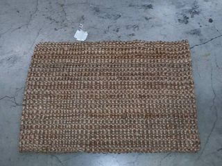 3 ft x 2 ft woven rug