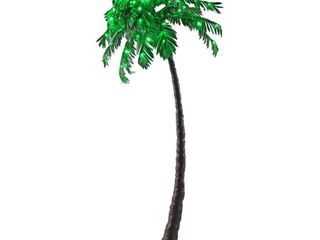 lED Palm Tree   Green   lightshare