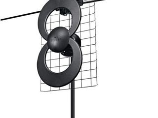 Antennas Direct C2 V CJM ClearStream 2V UHF VHF Indoor Outdoor DTV Antenna with 20  Mount