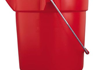 Rubbermaid Commercial Brute 10 quart Utility Bucket  Red