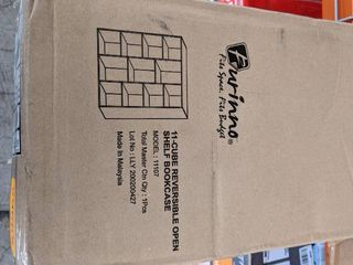 11 Cube reversible shelf bookcase