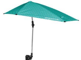 Sport Brella Versa Brella SPF 50  Adjustable Umbrella with Universal Clamp  Regular  Turquoise