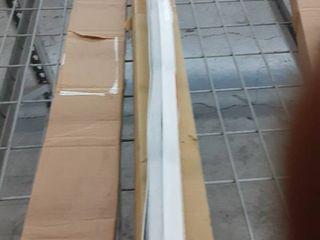 Original Corded lift light Blocking Pleated Fabric Shade White  36 x 72