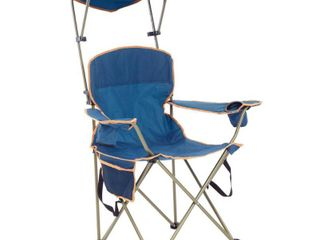 Quik Shade MAX Shade Chair with Carrying Case   Blue