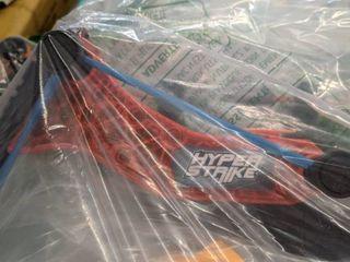 hyper stripe toy bow