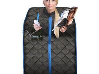 Serenelife SlISAU10BK   Compact   Portable Infrared Sauna