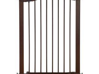 Munchkin Easy Close Tall   Wide Metal Baby Gate Bronze   29 5 51 6