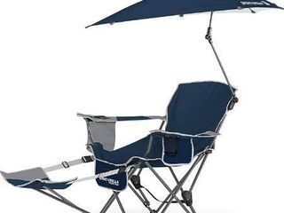 Sport Brella 3 Position Recliner Chair with Removable Umbrella and Footrest