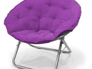 Mainstays large Microsuede Saucer Chair  Multiple Colors