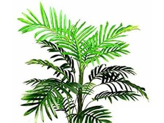 Admired By Nature Artificial Paradise Palm Tree Plant Plastic Pot  3  Single Pack