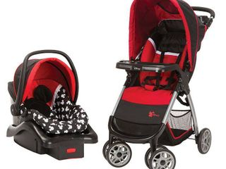 Disney Baby Mickey Mouse Amble Quad Travel System  Mickey Silhouette