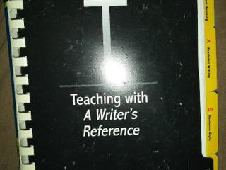A Writer s Reference   Instructor s Ed