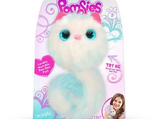 Pomsies Pet Snowball  Plush Interactive Toy
