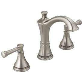 Spotshield Two Handle Widespread Bathroom Sink Faucet