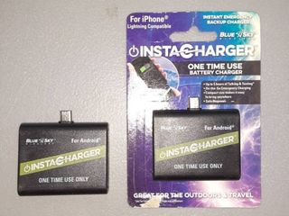 Two Disposable Chargers For Iphone