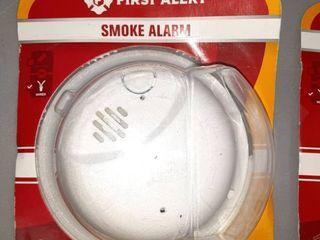 Two First Alert Smoke Alarms