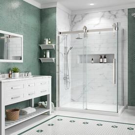 Sedona Frameless Sliding Shower Door