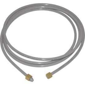 EASTMAN 8ft 1 4in Compression Inlet x 1 4 in Compression Outlet PEX Ice Maker Connector