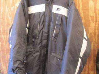 Starter Coat Mens Xl w detachible liner and hood