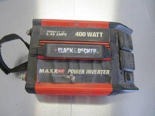 Black   Decker 400 Watt MAXXsst Power Inverter