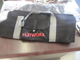 lot of 2 Hotworx Hot Worx Workout Bag   Exercise Work Out NEW