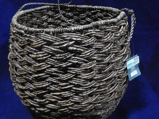 Threshold ethically handcrafted seagrass storage basket 15in H X 18in dia