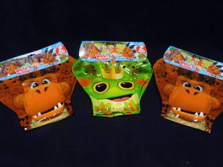 3 sets of 2 pack Zing wave a bubbles  assorted characters  great stuffing stuffers