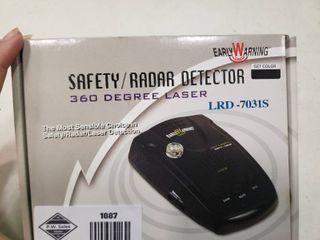 Safety Radar Detector