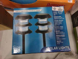 Box of 2 Solar lights