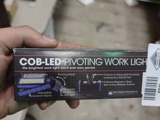 COB lED Pivoting Work light