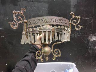 Oil lantern Chandelier
