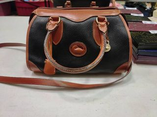 Black and Tan Dooney and Bourke Handbag
