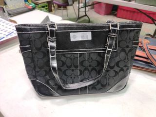 Black Coach leatherware Handbag