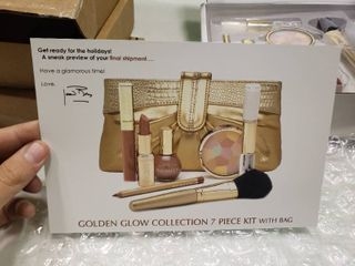 Joan Rivers Beauty 7 Piece Golden Glow Collection