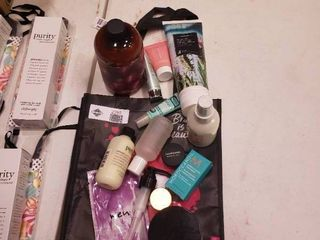 lot of 13 Pieces of Self Care Products with Carrying Bag