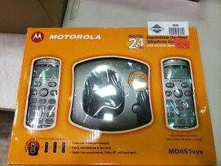 Motorola Expandable Cordless Telephone System
