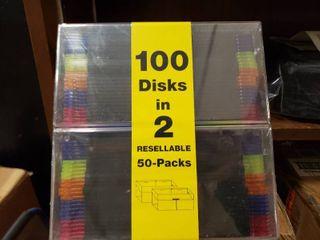 100 New Floppy Disks