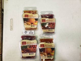 lot of 4 Wax Melts  2 Pumpkin Spice and 2 Cranberry Spice