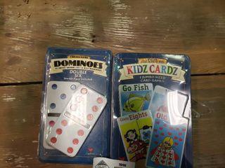 Dominoes and Kidz Cardz