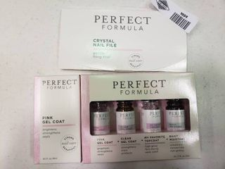 lot of Perfect Formula Nail Supplies