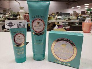 Perlier Golden Almond Nourishing Body Balm  Shower Cream and lotion