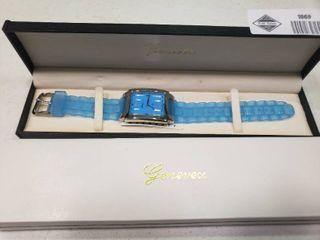 Genevex Blue Quartz Watch