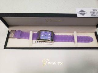 Genevex Purple Quartz Watch