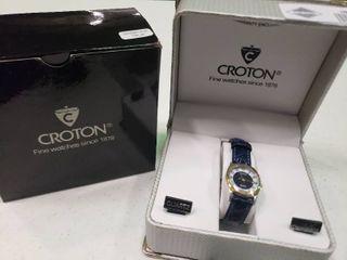 Women s Dark Blue Croton Watch