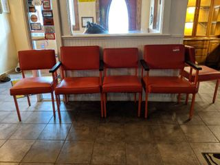 6  Red Chairs