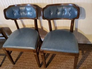 2  Blue Dining Chairs