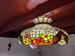 Mosaic light Fixture  Buyer Responsible For Removal