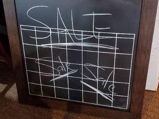 34in x 34in Chalkboard